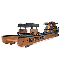 Безупречная рама из американского ясеня у гребного тренажера Viking